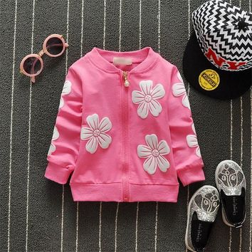 Free shipping Spring and Autumn cardigan jacket for children,baby girl cardigan#Z1695