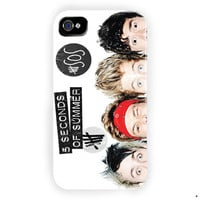 Second Of Summer Funny 5Sos Collage For iPhone 4 / 4S Case
