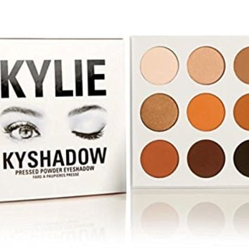Kylie Jenner Kyshadow Kit Pressed Powder Eye Shadow Bronze Palette