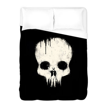 Paint it Black Duvet Cover