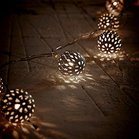 Moroccan String Lights in White - Urban Outfitters