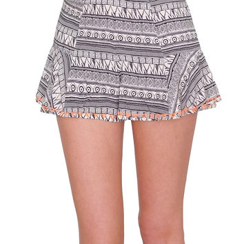 Heating Up Shorts - Multi Print