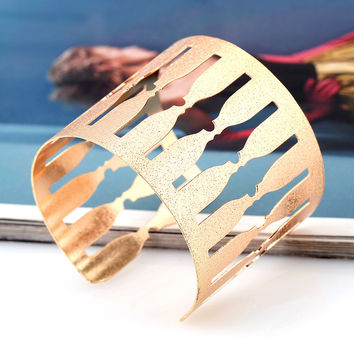 Shiny New Arrival Stylish Jewelry Matte Metal Fashion Ring Bangle [6324479300]