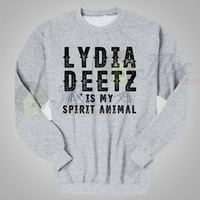 Lydia Deetz Is My Spirit Animal Crewneck Sweatshirt - Mpcteehouse