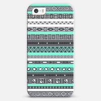 Tiffany Aztec Tribal Pattern iPhone 5s case by Rex Lambo | Casetagram