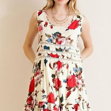 Raquel Floral Dress - !