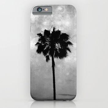 Palm Tree Lights iPhone & iPod Case by Derek Delacroix