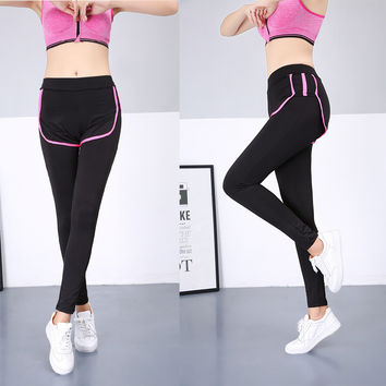 Jogging Gym Quick Dry Winter Sports Slim Stretch Yoga Ladies Pants [11405555663]