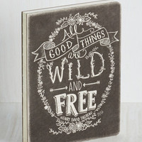 Sayings Thoreau-ly Detailed Anecdotes Journal by ModCloth