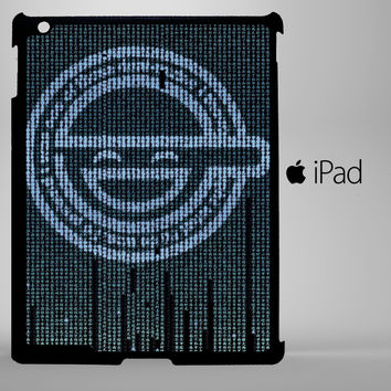 Ghost in The Shell Logo iPad 2, iPad 3, iPad 4, iPad Mini and iPad Air Cases - iPad