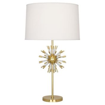 Robert Abbey Andromeda Table Lamp with Linen Shade