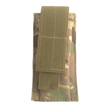 Military Tactical Single Pistol Magazine Pouch Knife Flashlight Sheath Airsoft Hunting Ammo Molle Pouch