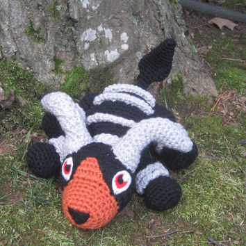 Pokemon Inspired: Houndoom Amigurumi (Crochet Plushie/Plush Toy) - MADE TO ORDER