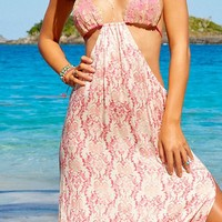 Beach Bunny 2015 Damascus Seas Maxi Dress L1544C4-MLT