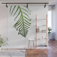 Fern Wall Mural by vanessagf