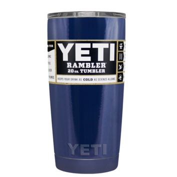 Custom YETI 20 oz Navy Blue Design Your Own Tumbler