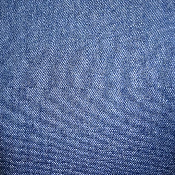 Cotton Denim Fabric, BY the YARD, 60 Inches Wide, Very Slight Stretch, Medium Weight, Home Sewing Fabric, Jeans Denim, Vintage Fabric