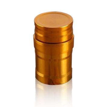 The new Golden Dragon brand aluminum mini portable metal alcohol lamp alcohol lamp wick send   Copper