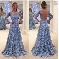 Prom Dress Dress Lace One Piece Dress [9430008580]