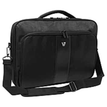 V7 Professional CCP24-9N Carrying Case for 13 Notebook, Tablet, Smartphone, Business Card, Pen, Key - Weather Resistant Interior, Moisture Resistant Handle - Nylon - Handle - 16 Height x 11.5 Width x 3 Depth