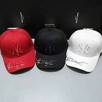 MLB street fashion men and women embroidered letter cap
