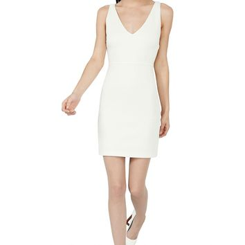 alice + olivia | V NECK SHIFT DRESS