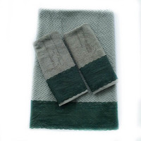 Sage decorative towel set of 3 Housewarming gift for men