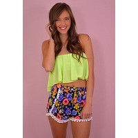 Shake It Off Shorts in Navy