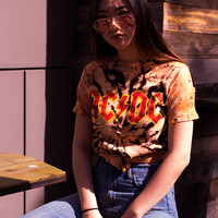 ACDC Distressed Tee