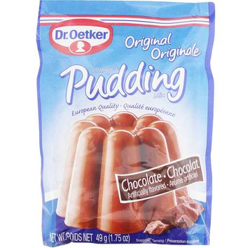 Dr Oetker Original Chocolate Pudding Mix (3 x 1.7 oz)