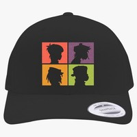 The Gorillaz  Embroidered Retro Embroidered Trucker Hat