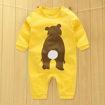 Baby Clothing 2017 New Newborn Baby Boy Girl Romper Clothes Long Sleeve Infant\newborn baby clothes Product