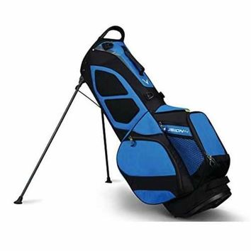 Callaway Fusion14 Stand Bag - Blue/Black/Neon Yellow