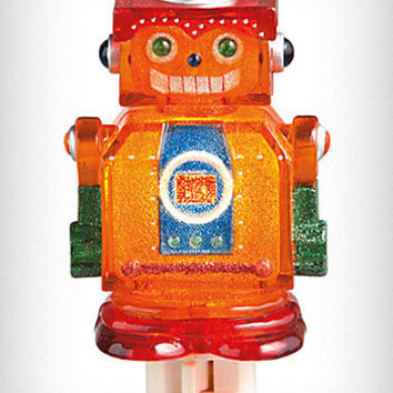Retro Robot Night Light | PLASTICLAND