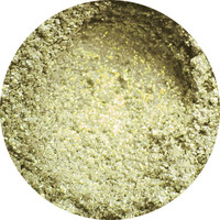 Silver with Gold Shift and Golden Glitter Vegan Loose or Pressed Eyeshadow Pigment - Star Shine Tinsel