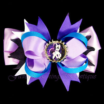 My Little Pony Rarity Hair Bow with Bottle Cap