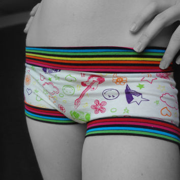 Scrundlewear Ladies Underwear PDF Sewing Pattern, Boyshorts, Briefs and More, XS-XXXL