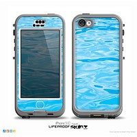 The Crystal Clear Water Skin for the iPhone 5c nüüd LifeProof Case