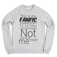 Fanfictions-Unisex Heather Grey Sweatshirt