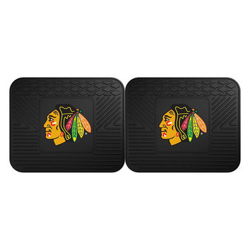 Chicago Blackhawks NHL Utility Mat (14x17)(2 Pack)