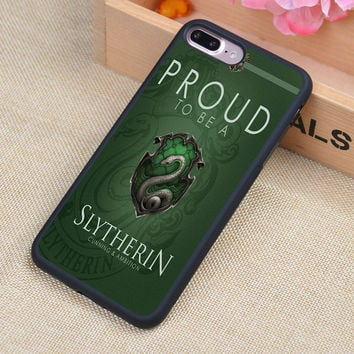 Slytherin Harry Potter Printed Phone Case Skin Shell For iPhone 6 6S Plus 7 7 Plus 5 5S 5C SE 4S Rubber Soft Cell Housing Cover
