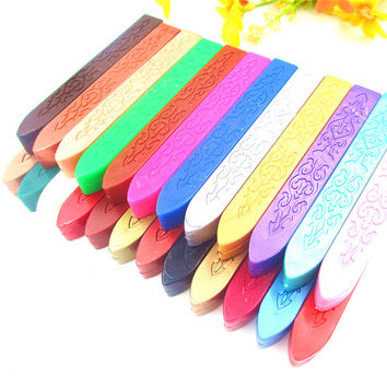B) Sealing Wax Coloured Wax Sticks Choose Colour Silver Gold Red Green Blue White