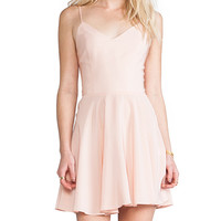 Amanda Uprichard EXCLUSIVE Bowery Dress in Blush