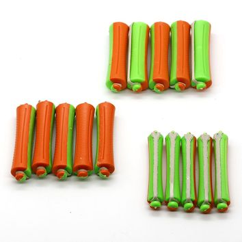 30 Pcs/Lot Hair Roller Rubber Band Wave Hair Rods 3 Sizes Perm Hair Clips DIY Curling Hair Tools