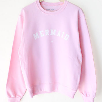 Mermaid IRL Oversized Sweater