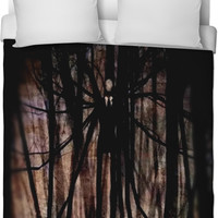 Slenderman Duvet Cover
