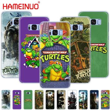 HAMEINUO TMNT Teenage Mutant Ninja Turtles cell phone case cover for Samsung Galaxy S9 S7 edge PLUS S8 S6 S5 S4 S3 MINI