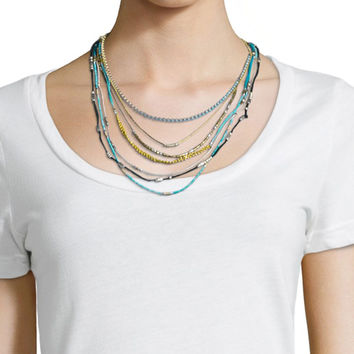 Hip Layered Necklace - Johnny Was Collection
