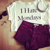 I Hate Mondays @youregonnalovethis on skreened :)