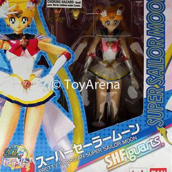 S.H. Figuarts Super Sailor Moon Sailor Moon Action Figure IN-STOCK USA Seller